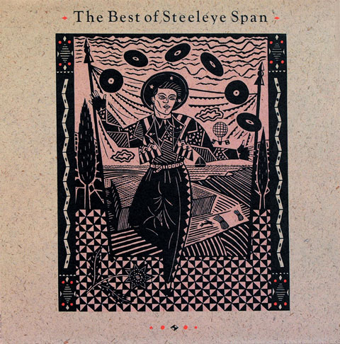 Steeleye Span LP 1985 Illustration by Christopher Brown