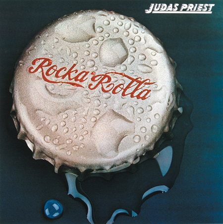 Judas Priest Rocka Rolla LP 1975 photography by Phil Jude