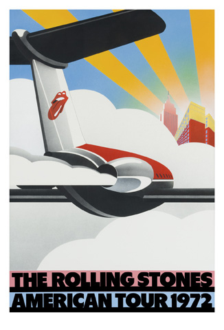 Rolling Stones American Tour poster 1972