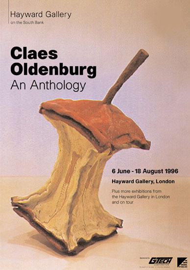 Claus Oldenburg Exhibition Hayward Gallery 1996 by John Pasche