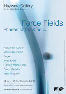 Force Fields Kinetic Art Exhibition Hayward Gallery 2000 by John Pasche Photography by Richard Haughton