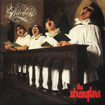The Stranglers Duchess single sleeve by John Pasche 1979 Calligraphy by Jim Gibson